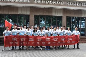 7月21日 南京森林警察学院某区队十年团建
