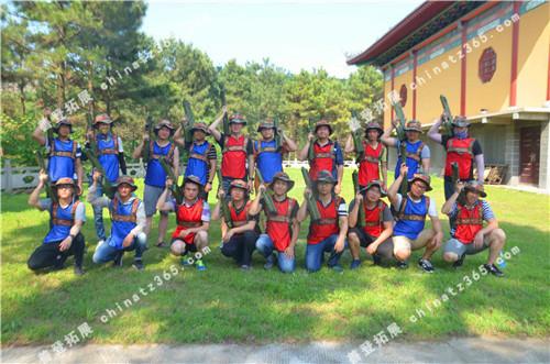 7月15日   上海铁路局南京桥工段大金山拓展训练